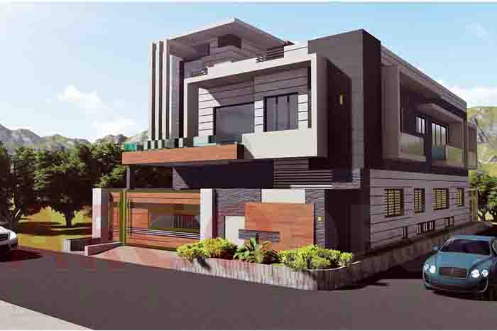 Beautiful and stylish Contemporary Modern House Design in G 13 Islamabad