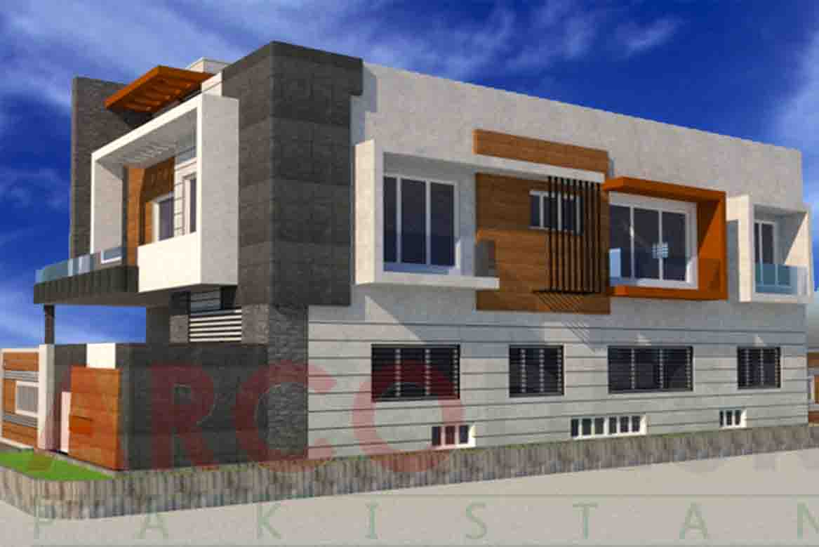 Beautiful and stylish Modern House Design in B 17 Islamabad