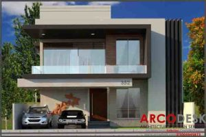 Beautiful and stylish Modern House Design in D 12 Islamabad