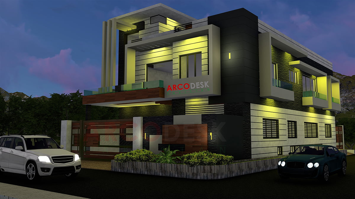 Modern House Design in G14 Islamabad