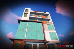 Proposed Commercial Plaza Design in Rawalpindi