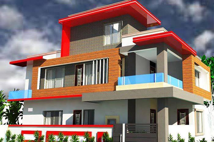 Stylish House In Gujrat