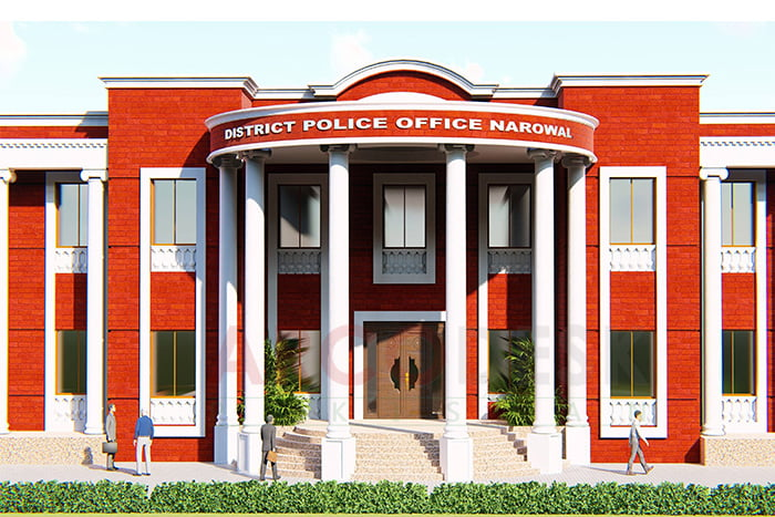 DPO Office Design Proposal In Narowal by ArcoDesk Pakistan