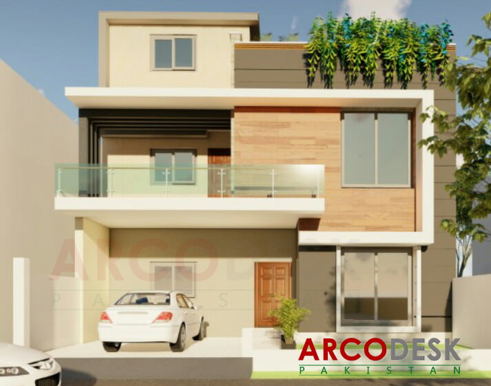 10 Marla 35x70 House Design in Sector B17 Islamabad