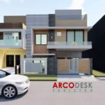 7 marla 30x60 Modern Contemporary Corner House Design In G13 Islamabad