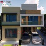 8 Marla (30x60) House Design In Sector E-16 Islamabad