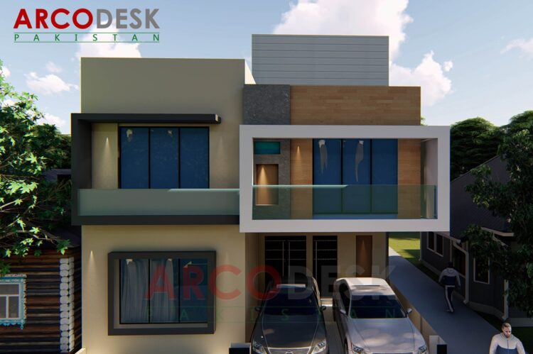 8 Marla (30x60) House Design In Sector E-16 Islamabad