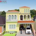 10 Marla Spanish House Design at Park City Mardan, KPK
