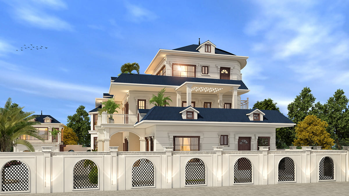2 Kanal Elegant Villa Design at Rawalakot