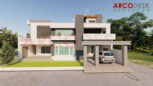1.5 Kanal Modern Villa in Mandi Bahauddin