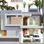 10 Marla Contemporary Modern House Design At Gulberg Green Islamabad