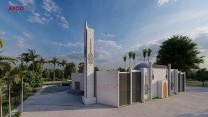 Beautiful Masjid Design in PSIC Estate Sundar Lahore