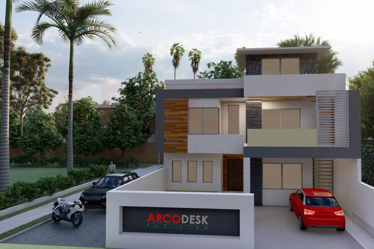 Beautiful House Design at Sector D12 Islamabad
