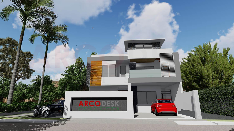 Elegant Modern House Design at Sector D12 Islamabad