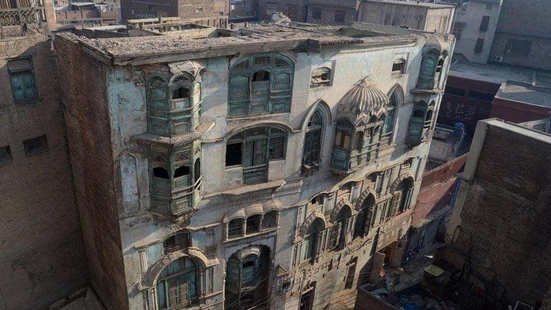 A View Of Daleep Kumar House In Peshawar