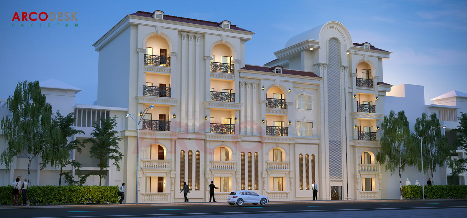Classical Mix Used Commercial Project at Zamar Valley Islamabad