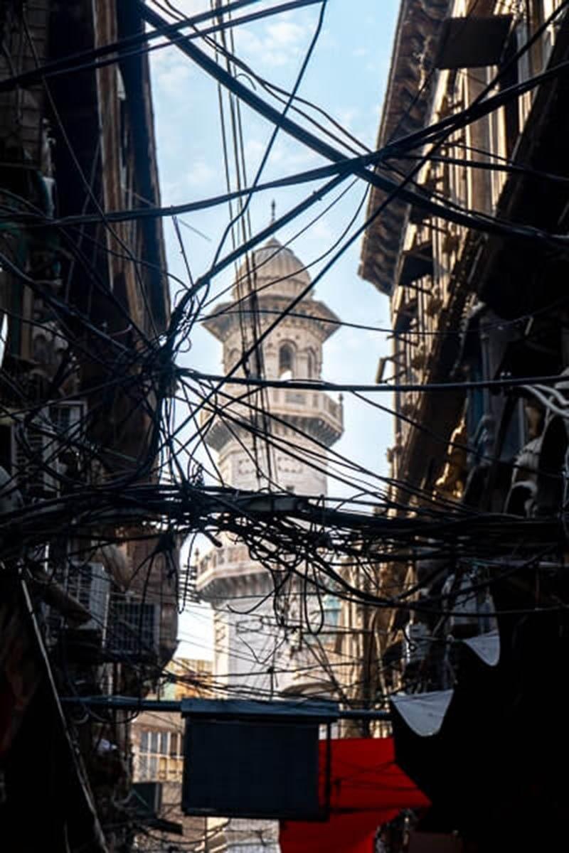 Qisa Khawani Bazar Street