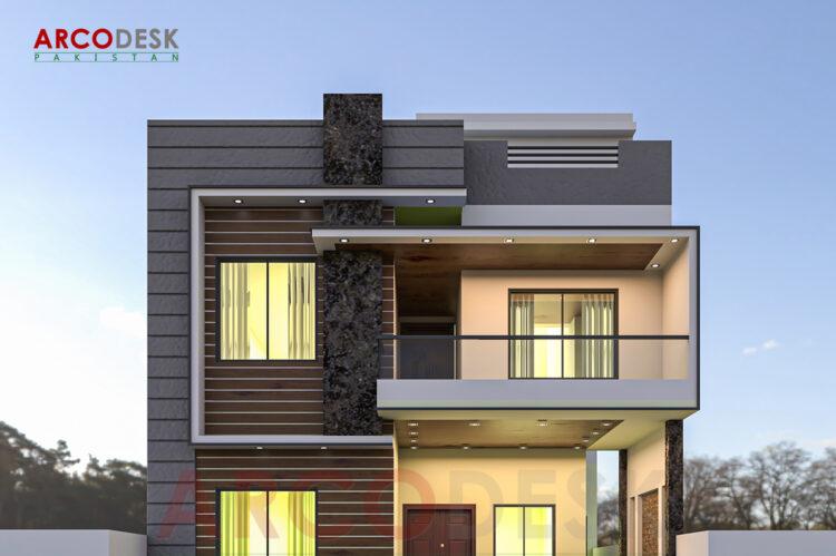 Beautiful Elegant Modern House Design in PMCHS E-11 Islamabad