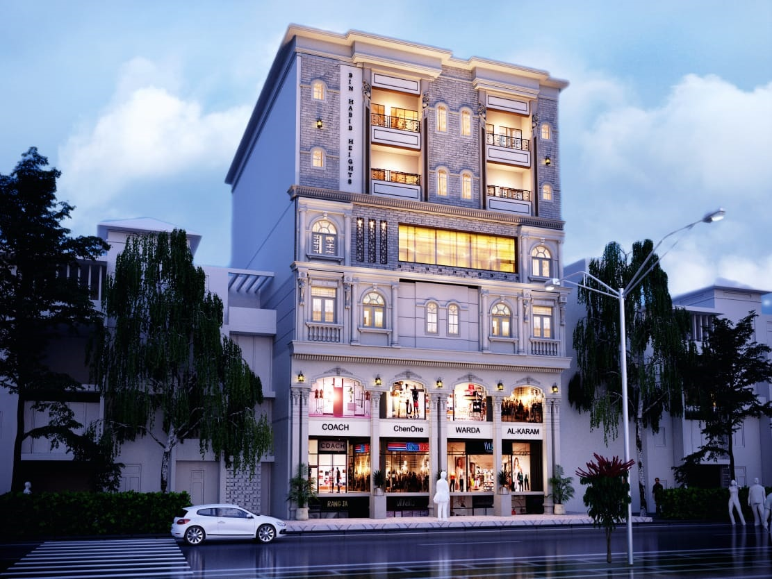 Elegant and Stylish Commercial Plaza at Faisal Town Islamabad
